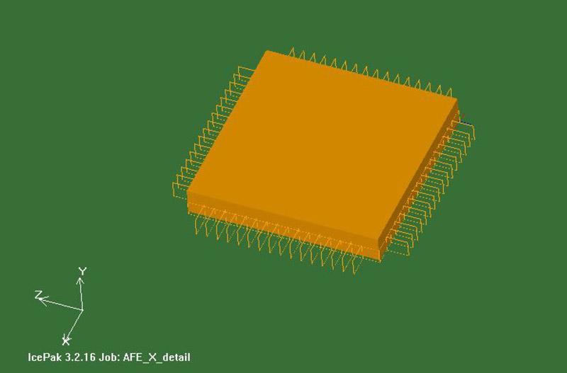 Modellaufbau: Chip-Bauteil